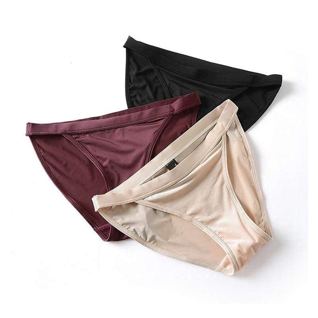 Ice Silk Seamless Panties Comfort Intimates - SoTrendify