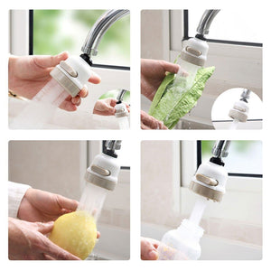 Moveable Kitchen Tap Head Universal 360 Degree Rotatable Faucet Water Saving Filter Sprayer - SoTrendify