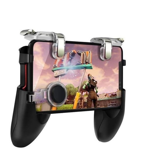 Mobile Game Controller For PUBG with 2 Blade Shooter Button Trigger Shooter - 1 set / China - SoTrendify