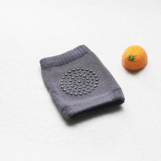 Newborn baby knee socks for crawling kneecaps Anti-Slip Knee Compression Unisex - Dark Gray - SoTrendify