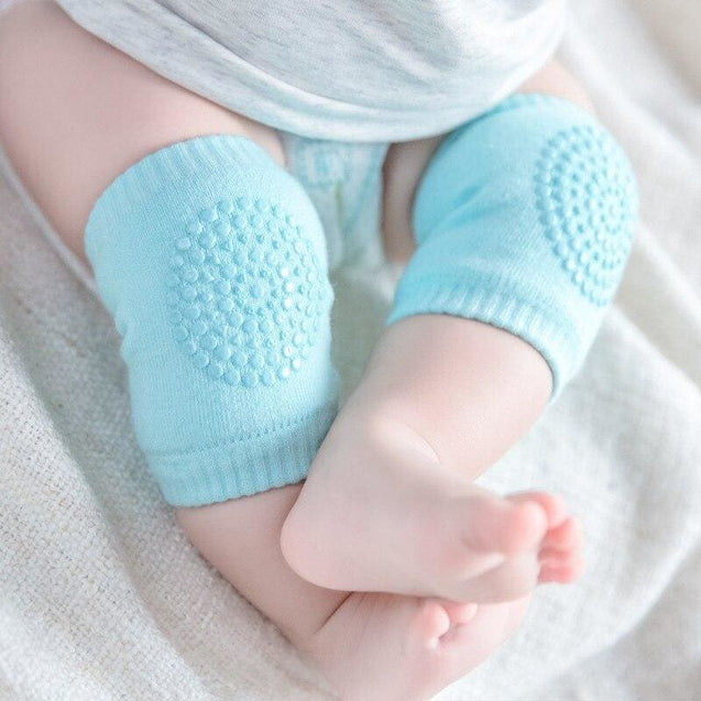 Newborn baby knee socks for crawling kneecaps Anti-Slip Knee Compression Unisex - SoTrendify