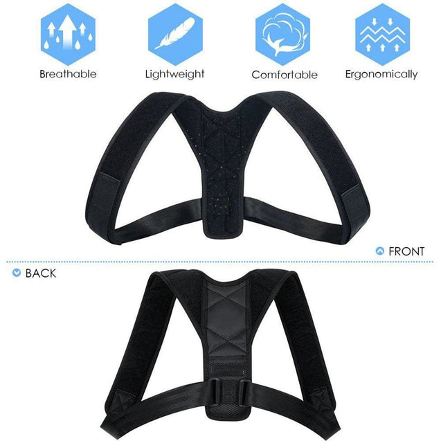 Orthopaedic Posture Corrector Scoliosis Support Brace for Women & Men Resistance - SoTrendify