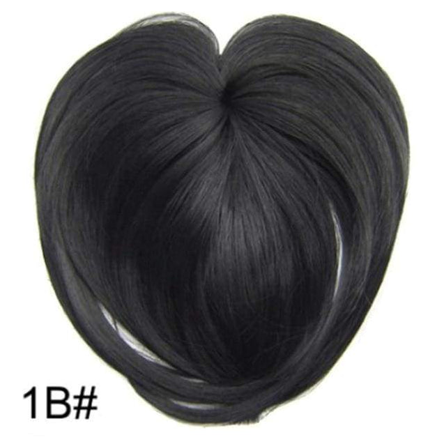 Silky Clip-On Hair Topper - 1b - SoTrendify