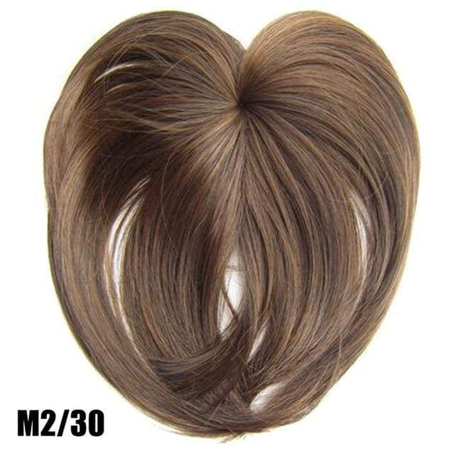 Silky Clip-On Hair Topper - m2 30 - SoTrendify