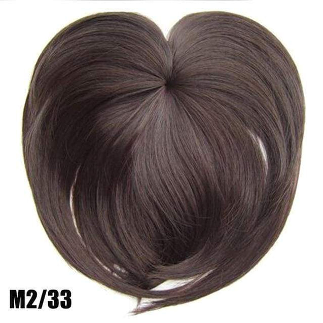 Silky Clip-On Hair Topper - m2 33 - SoTrendify