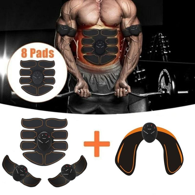 Smart EMS Electric Pulse Treatment Massager Abdominal Muscle Trainer - SoTrendify