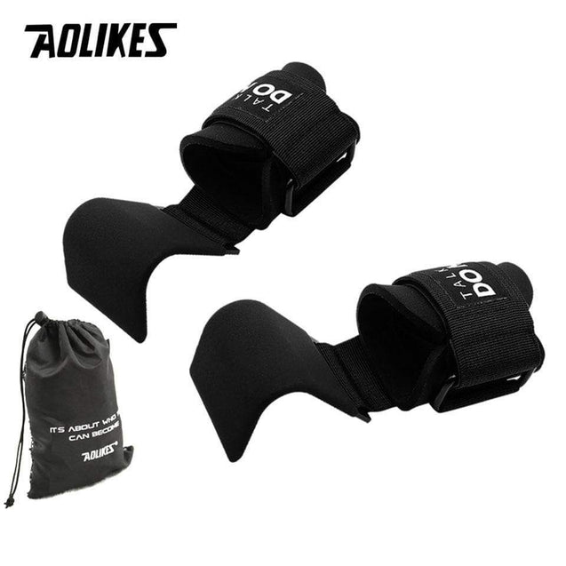 Weight Lifting-Hook Hand-Bar Weight Lifting Gloves - SoTrendify