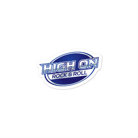 High On Rock & Roll Stickers