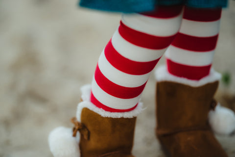 Candy Cane Stripe Leggings