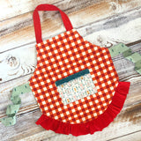 Mommy and Me Holiday Aprons