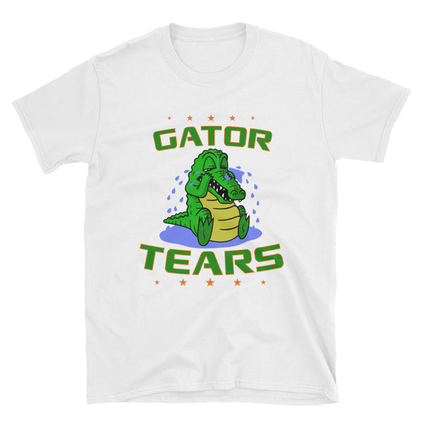 Short-Sleeve Unisex Gator Tears T-Shirt
