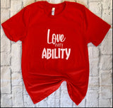 Love Every Ability - Laura's Greetings