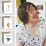 Down Syndrome Awareness Pack (Birthday, I Love You, Thank You) - Laura's Greetings