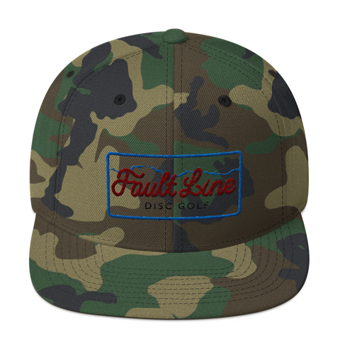 Fault Line Flat Bill Snap Back