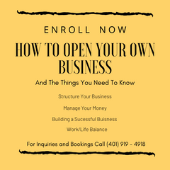 How To Open Your Own Business
