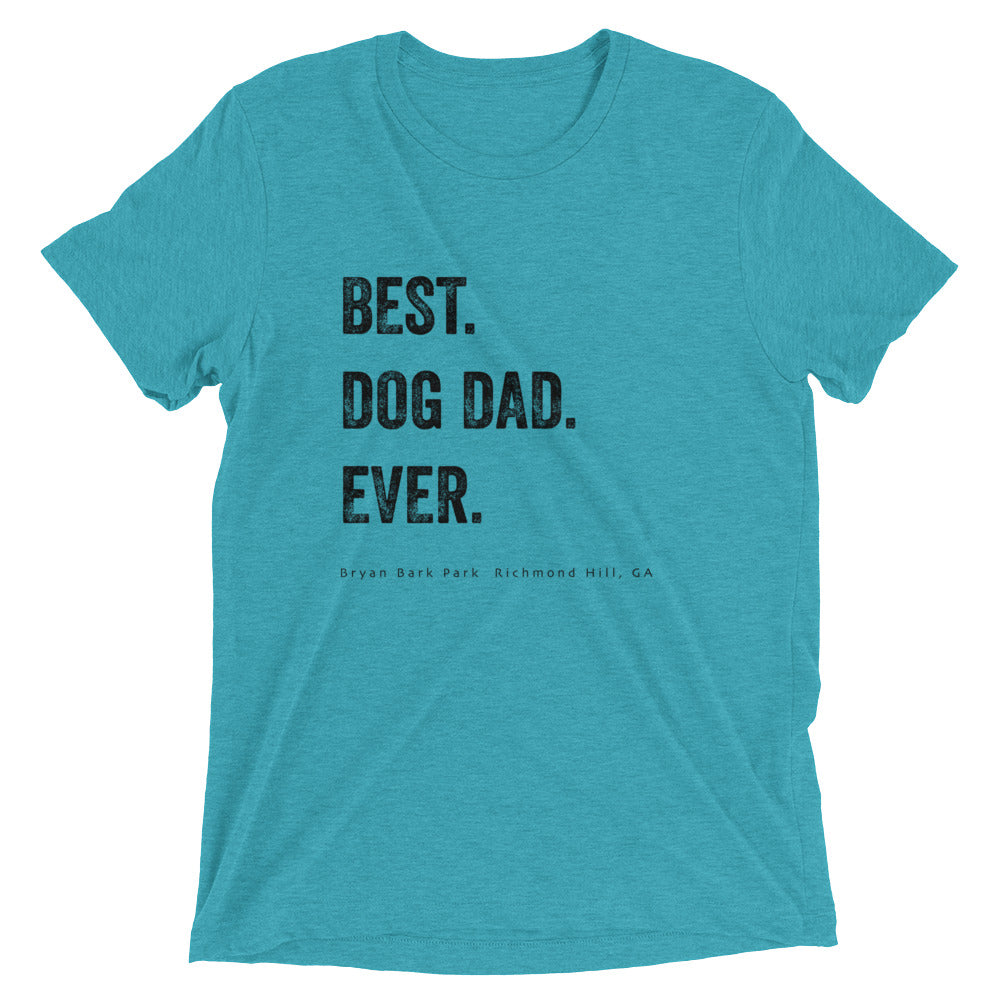 Best Dad, Best Dog Dad, Best Dog Dad T-shirt, Bark Park T-shirt, Bryan Bark Park, Dog T-Shirt
