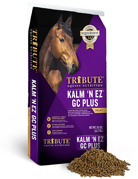 Tribute Kalm 'N EZ GC Plus Feed Pellets