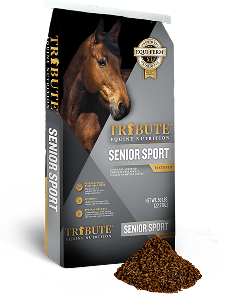 Tribute Senior Sport Feed Pellet