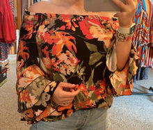 Load image into Gallery viewer, Scully Floral Flirty Flowy - Copper Bit Boutique