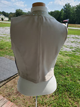 Load image into Gallery viewer, Custom Show Vest - Lambs Leather - Copper Bit Boutique