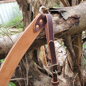 Saddle Barn Leather Breast Collar - Copper Bit Boutique