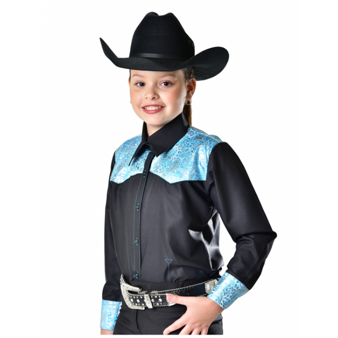 Royal Highness Yoke Show Shirt - Copper Bit Boutique