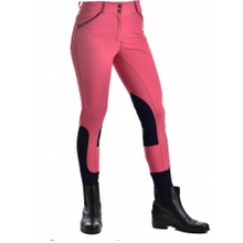 Load image into Gallery viewer, Royal Highness Piping Knee Patch Breech - Copper Bit Boutique