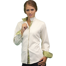 Load image into Gallery viewer, Royal Highness Warrenton Wrap Collar Shirt - Copper Bit Boutique