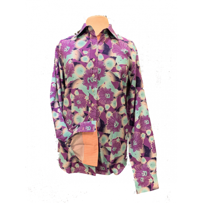 Blossom Flower Show Shirt - Copper Bit Boutique