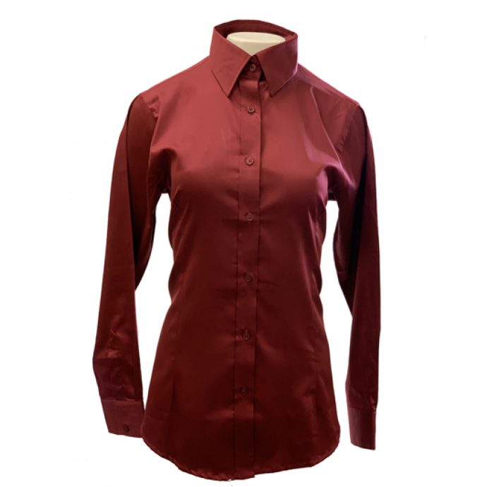 The Sateen Show Shirt - Copper Bit Boutique