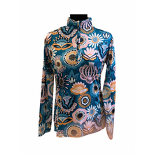 Load image into Gallery viewer, Fall Folk Floral Sunshirt - Copper Bit Boutique