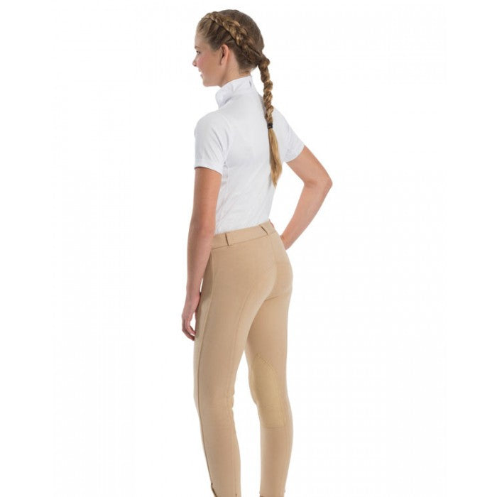 Royal Highness Equestrian Kids Euro Seat Low Rise Cotton Jodhpur - Copper Bit Boutique