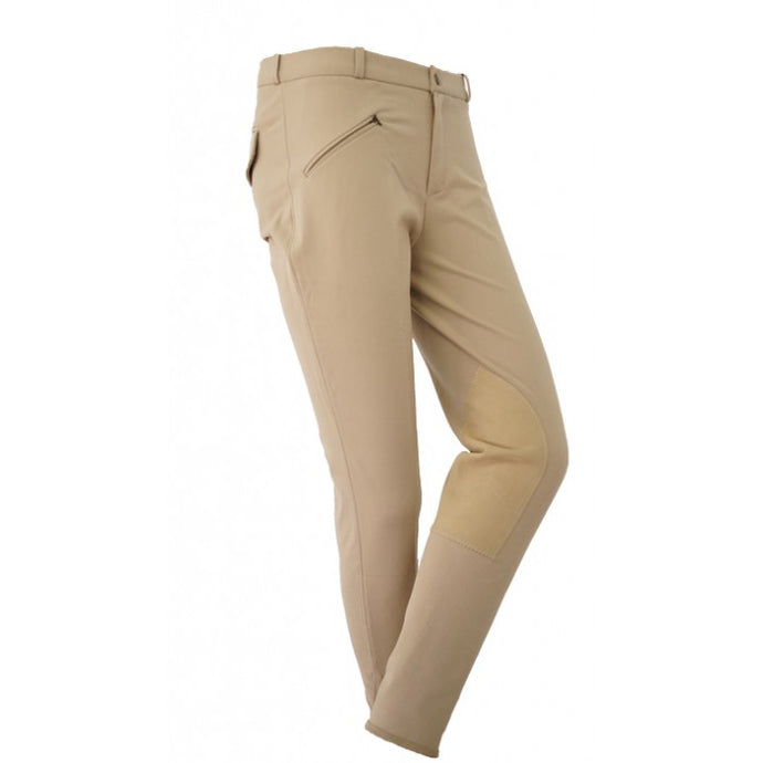 Mens Microfiber Knee Patch Breech - Copper Bit Boutique