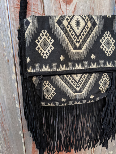 Scully Fringe Crossbody - Copper Bit Boutique