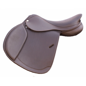 Royal Highness Hannah Double Leather Jumping Saddle - RS1605 - Copper Bit Boutique