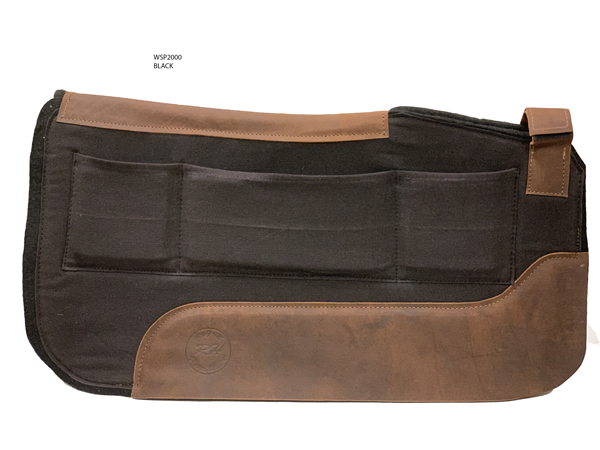 Royal Highness Shim-able Western Saddle Pad - Copper Bit Boutique