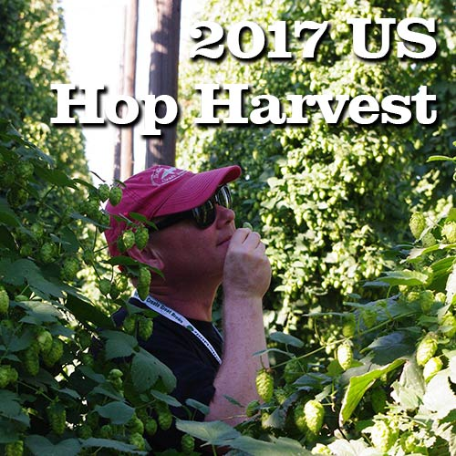 2017 US Hop Harvest
