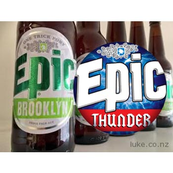 Brooklyn & Thunder – Two New EPIC Beers