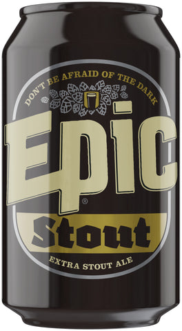 Epic Stout 330ml Can 4.8% alc/vol