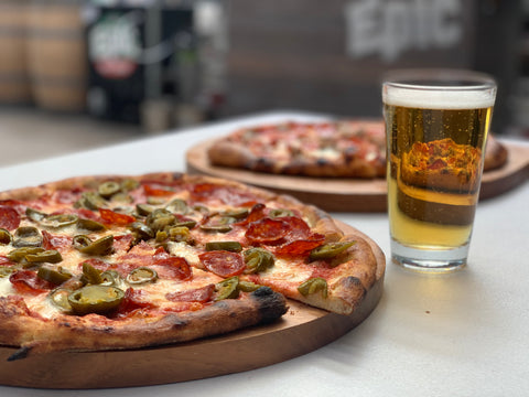 Pizza & Beer - Epic Beer (The Lil Liv Pizza)