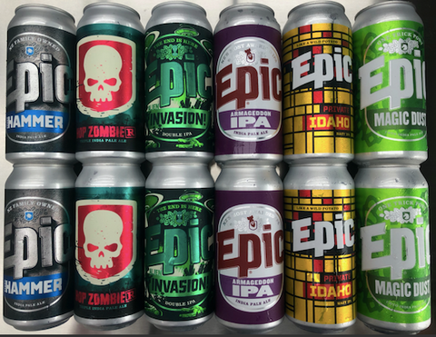 Epic - February 12x440ml Mixed Pack - Epic Beer