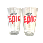 Epic Pint Glass - 2 Pack
