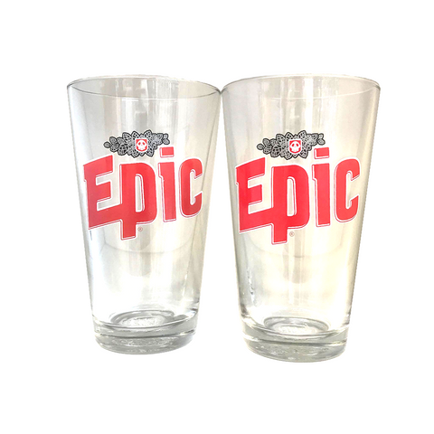 Epic Pint Glass - 2 Pack - Epic Beer