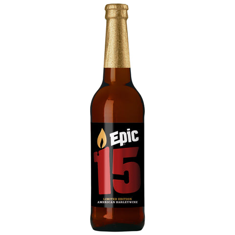 Epic 15 - 12 x 500ml 10.2% - Epic Beer