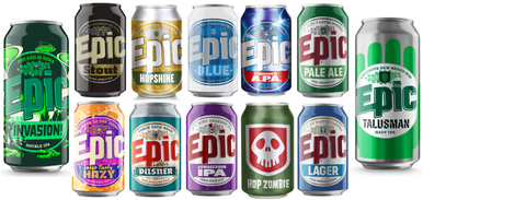 Epic - 12 Beers Christmas Mix - Epic Beer
