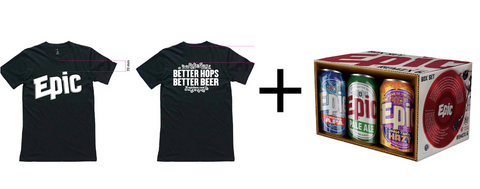Epic - Remix & Black Epic T-Shirt Pack - Epic Beer