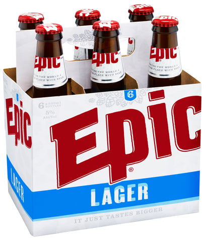 Lager 24 x 330ml Case - Epic Beer
