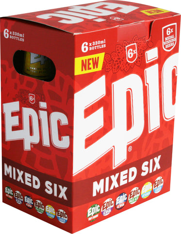 Mixed Bottles 24 x 330ml - Epic Beer