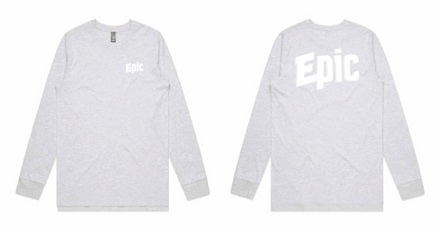 Epic Long Sleeve - Grey - Epic Beer