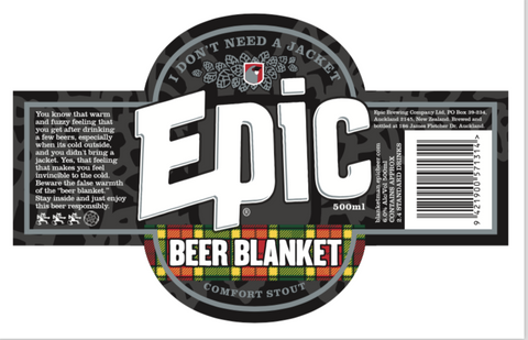 Beer Blanket Stout 24x330ml Case